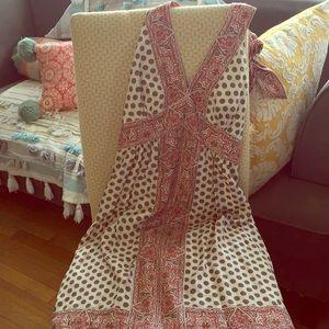 BCBG Maxazria silk halter dress